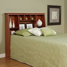 Queen Bed With Shelf Headboard by Monterey Full Queen Bookcase Headboard Free Shipping Today