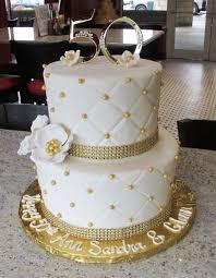 golden wedding cakes modern ideas wedding anniversary cake beautiful looking best 25