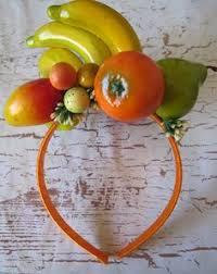 fruit headband copacabana samba girl miranda headband fruit headdress