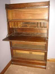 Globe Wernicke Bookcase 299 Wernicke Stackable Bookcase Drop Front Desk