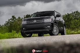 volkswagen atlas black wheels a new chapter first vw atlas on vossen vfs2 u2013 advanced