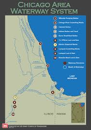 Chicago Areas Map by The Chicago Area Waterway System Maps Pinterest Chicago