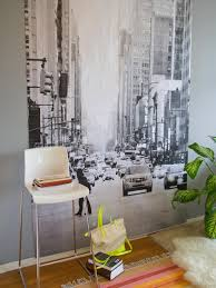 diy wall mural hgtv smooth and straighten