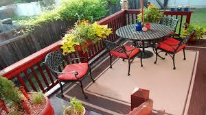 Outdoor Balcony Rugs Small Balcony Design And Rug Ideas Small Balcony Makeover Youtube