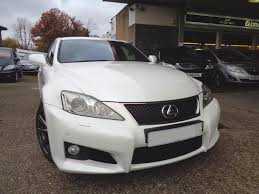 lexus v8 sound used lexus is f 5 0 v8 auto navigation pearl white anthracite