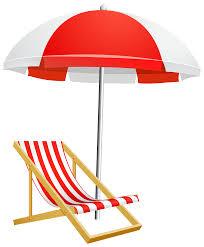 Beach Umbrella And Chair Beach Umbrella Vector Art Free Vector Downloa Clip Art Library