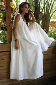 nightgowns for honeymoon white cotton swing bridal wedding