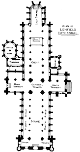Cathedral Floor Plan Bell U0027s Cathedrals The Cathedral Church Of Lichfield By A B Clifton