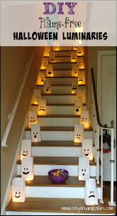 paper bag luminaries halloween crayons and collars u2013 life with kids and pets flame free diy