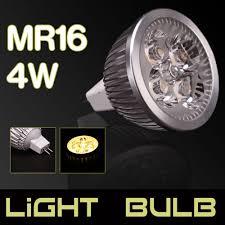 lot 10 led spotlight bulb lmap mr16 4w 12v warm white spot light