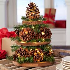 festive pinecone projects
