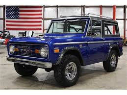 ford bronco 1970 ford bronco for sale