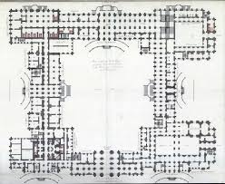 Ground Floor Plan Of The Vladimir Palace Residence Of Grand Duke