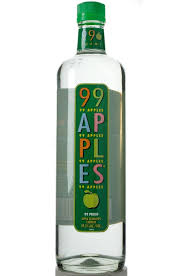 green apple martini bottle 99 apples schnapps