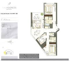 the address residence floor plans downtown dubai arch plans