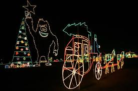 Light Show Lights The 11 Best Christmas Light Displays In Indiana In 2016