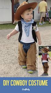 Cowboy Halloween Costume Diy Cowboy Halloween Costume Kid Baby Toddler
