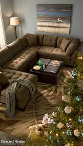 Big Sectional Sofas by Best 25 Rustic Sectional Sofas Ideas Only On Pinterest