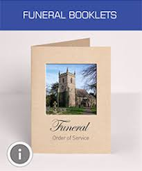 Funeral Booklets Fast And Cost Effective Printing From The Uk U0027s Premier Printer