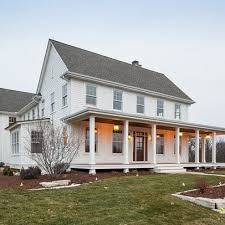 traditional exterior farmhouse front porch design ideas pictures