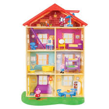 peppa pig family home playset with lights and sounds target