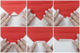 How To Make A Origami Santa - how to make a origami santa