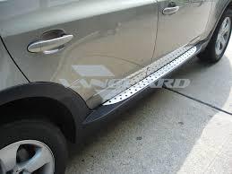 nissan pathfinder running boards side steps aluminum running boards factory oem design auto