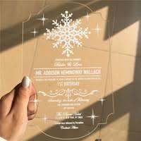 engraved wedding invitations wholesale acrylic invitations buy cheap acrylic invitations from