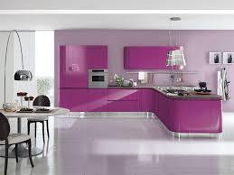 küche pink moderne küche laminat hochglanz lackiert laccata aerre