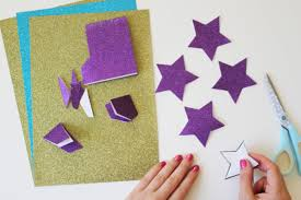 diy star bunting with the new craft house tatty devine blog