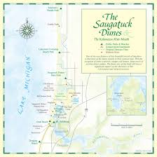 Chicago Beaches Map by Saugatuck Dunes State Park Travel Guide Wickwood Inn