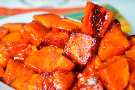 yams thanksgiving marshmallows easy u201cno bake u201d sauteed candied yams a soulful twist