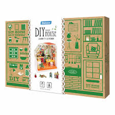 aliexpress com buy dollhouse furniture 1 12 3d puzzle diy