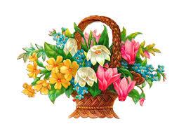 flower basket antique images free flower basket clip 2 wicket baskets