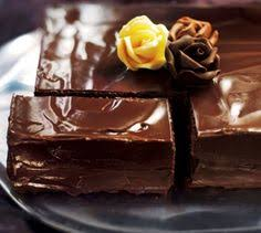 triple layer chocolate cake recipe http www womanandhome com