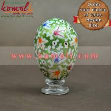 Big Easter Eggs Decorations by Glitter Pattern Hand Painted Large Easter Eggs Decorations Eggs