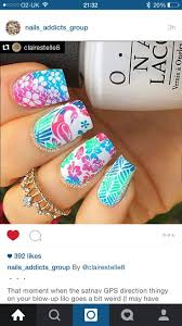 125 best water marble and multi colour nails images on pinterest