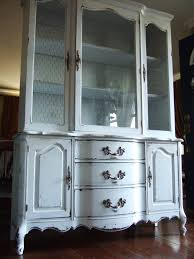 entrancing french country kitchen hutch with old white colour