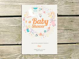 baby shower card template 20 free printable word pdf psd eps