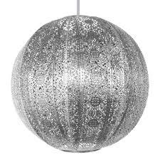 Moroccan Pendant Light Decor Elegant Fabulous Silver Stainless Steel Moroccan Pendant