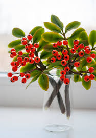 Fake Fruit Centerpieces by Fall Centerpieces Rowan Berries Rustic Home Decor Rowan Tree