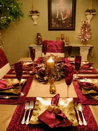 28 christmas table decorations u0026 settings hgtv ideas party and