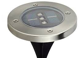 Solar Led Lights For Outdoors Waterproof Solar Powered 3 Led Lighting Buried Ground Underground