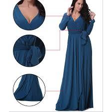 v neck maxi dress size 20 ivo hoogveld