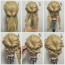 cool step by step hairstyles best 25 easy formal hairstyles ideas on pinterest updo diy