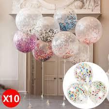 10x 12 confetti balloons wedding birthday party baby shower