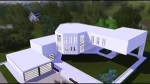 the sims 3 house ultra modern art mansion hd youtube