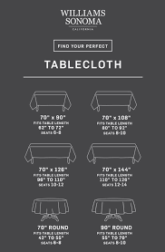 round table cloth dimensions tablecloth size calculator williams sonoma taste