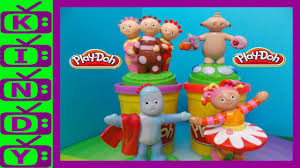 night garden play doh iggle piggle upsy daisy play doh