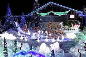 biggest and best christmas lights the festive display fan that